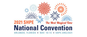 SHPE 2021 National Convention logo