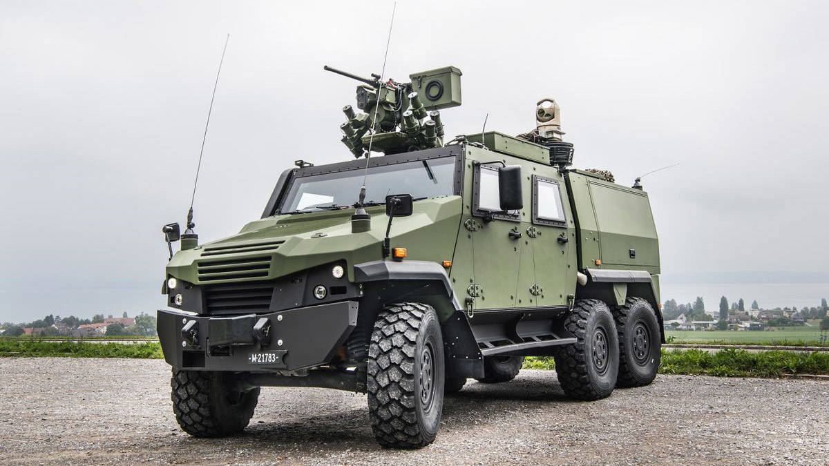 General Dynamics European Land Systems EAGLE 6x6
