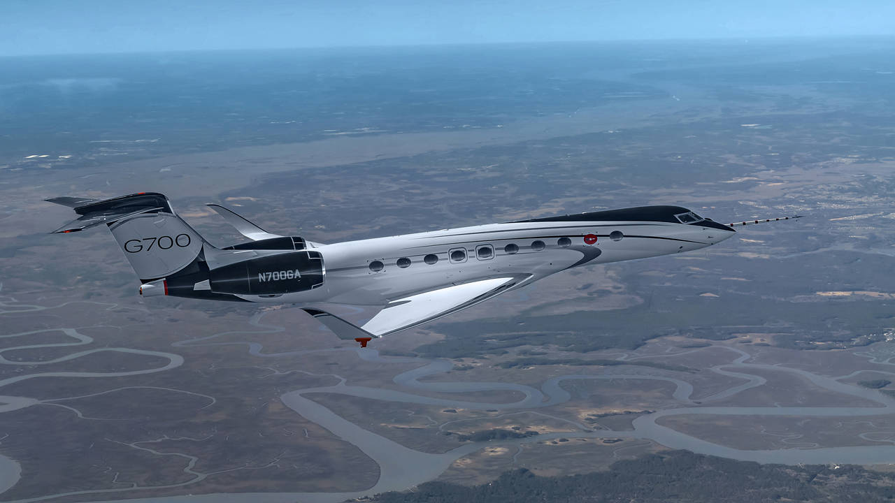 Gulfstream Advances G700 Flight-Test Program