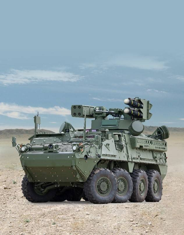 General Dynamics Land Systems awarded $1.2 Billion U.S. Army Contract for Stryker IM-SHORAD Vehicles